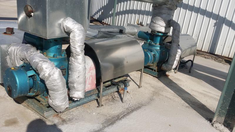 双螺杆沥青泵15台全部运行调试成功