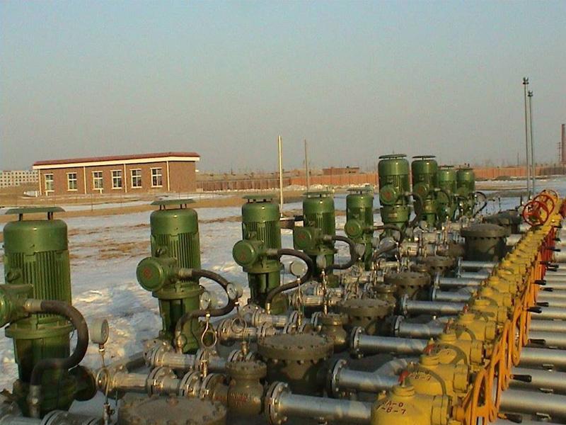 燃料油汽柴油卸车泵HYXC100-125立式管道油泵