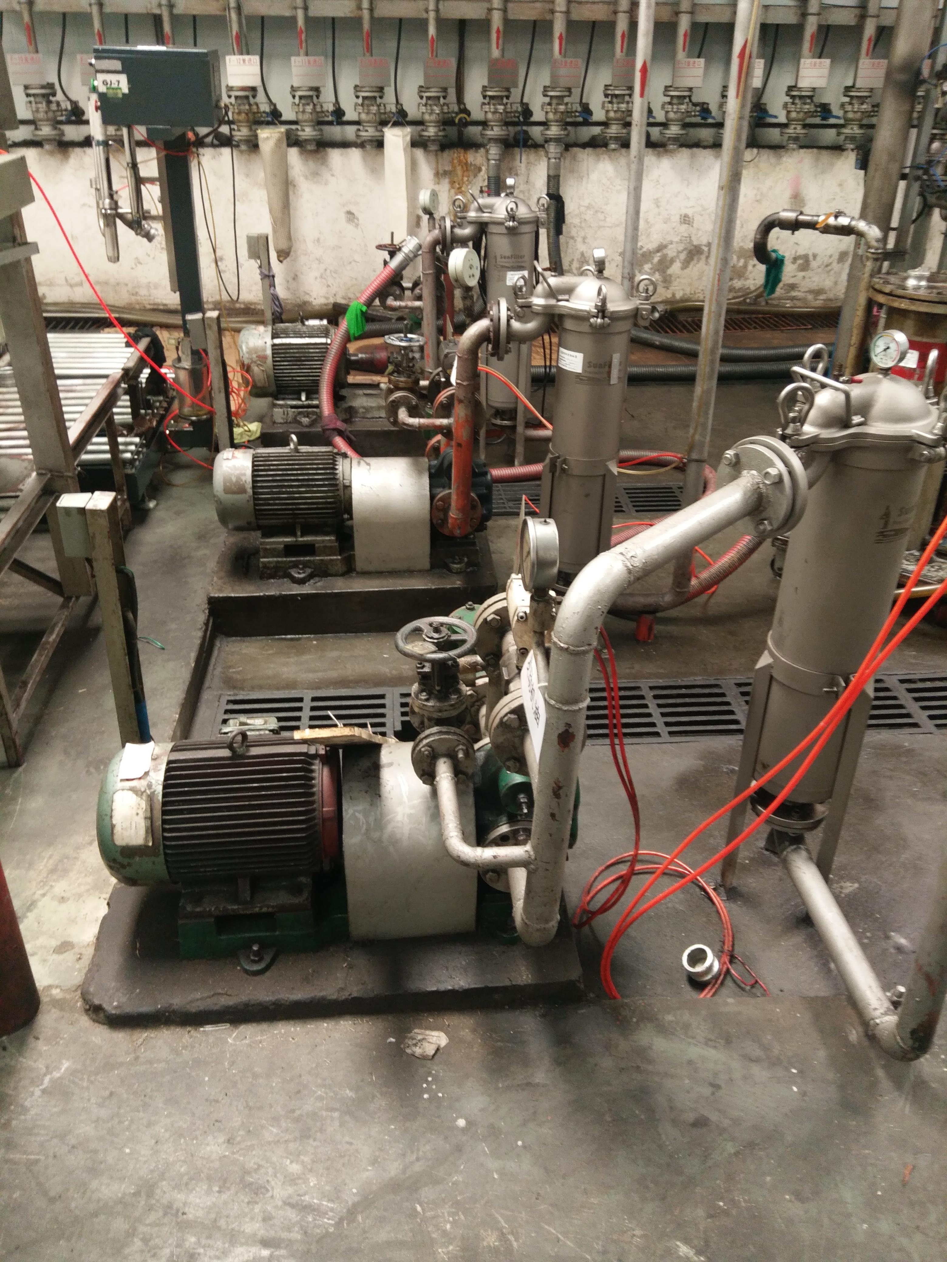 太平洋博高润滑油新建项目润滑油输送泵/装车泵/卸车泵全部采用远东KCB300齿轮泵