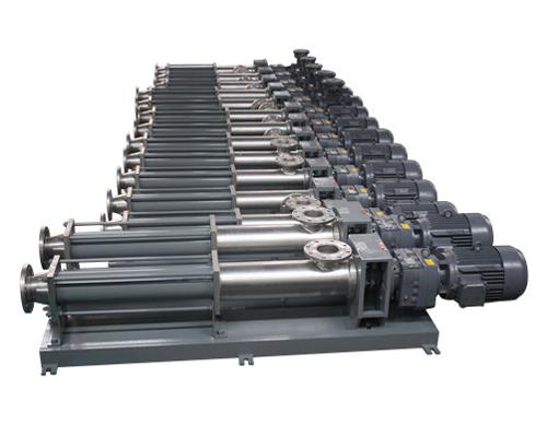 污水处理专用螺杆泵EH2500不锈钢螺杆泵