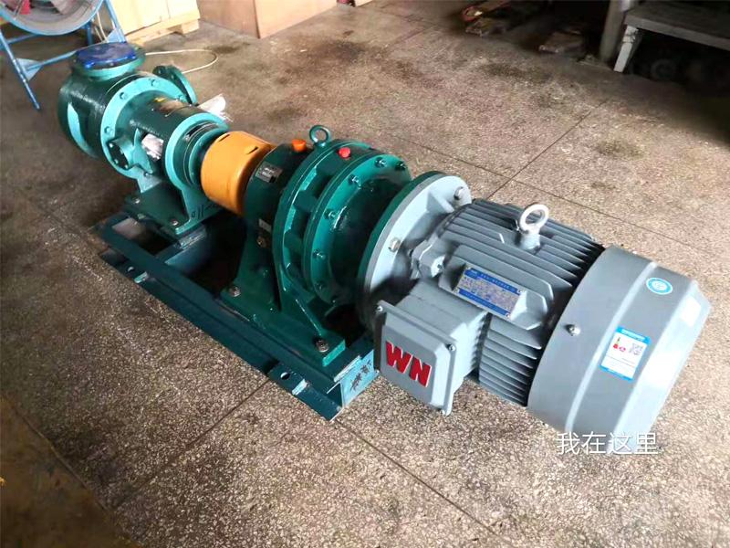 聚醚输送泵NYP110B-RU-104U-W51高粘度泵