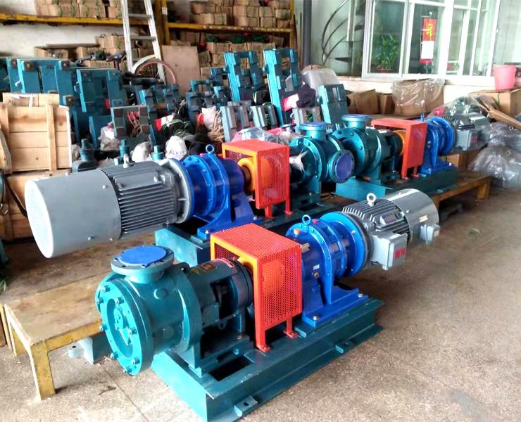 高立德三期项目107胶泵硅油泵白油泵全部选用远东泵业NYP220B-RU-T2-W11