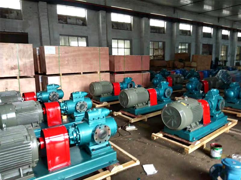 用户订购的SNH440R46U12.1W21螺杆泵15台生产完成出货啦