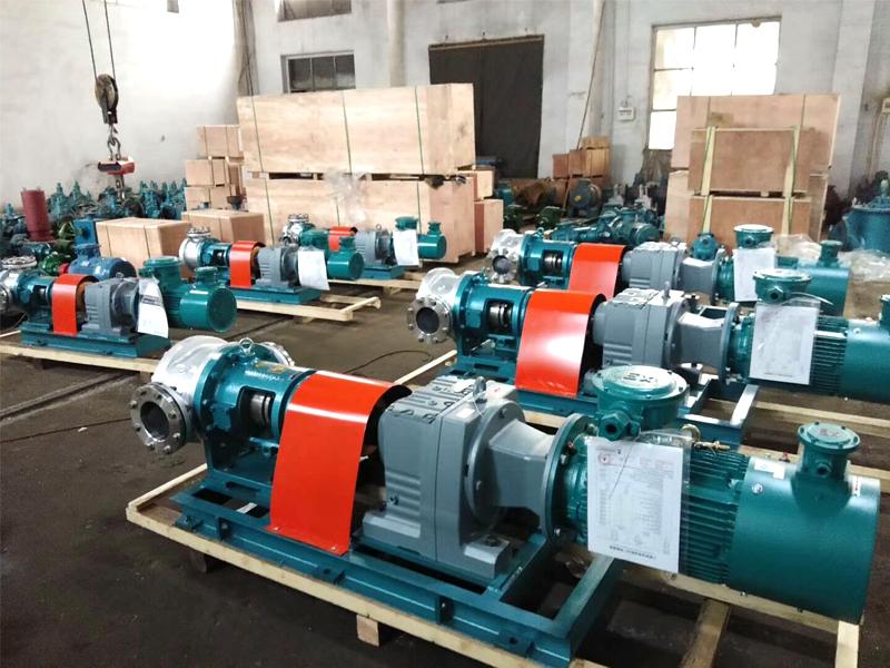 NYP440B-RU-T2-W51高粘度齿轮泵输送高粘度物料