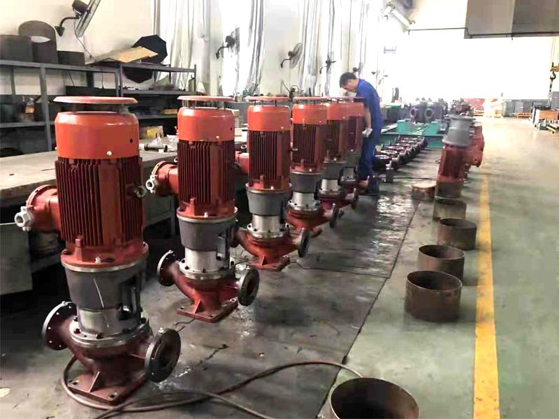 立式离心油泵HYG100-200在中海油输送柴油汽油