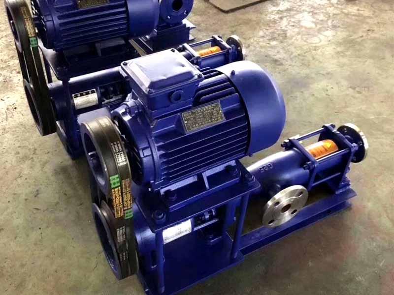 树脂输送泵专用单螺杆泵不锈钢材质定制