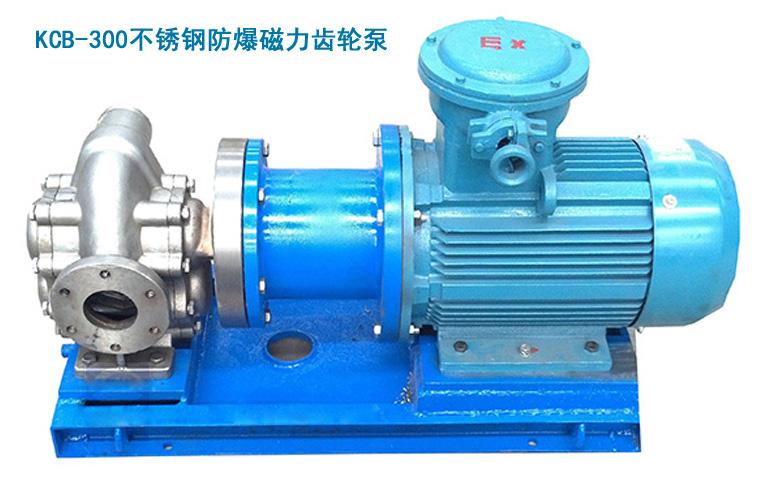 无泄漏磁力齿轮泵YBCL20/0.6输送树脂