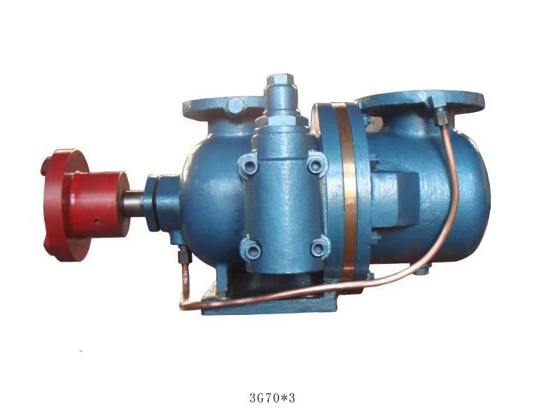 3G70*3螺杆泵深孔钻输送切削液压力达到2.5MPa