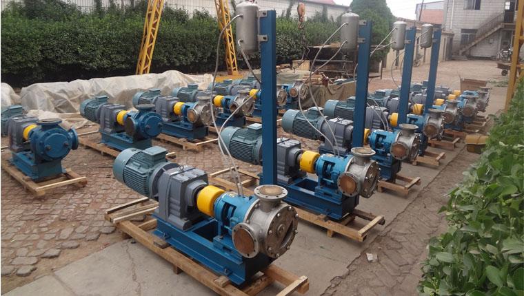 兴发化工集团107硅橡胶输送泵全部采用远东NYP220高粘度泵