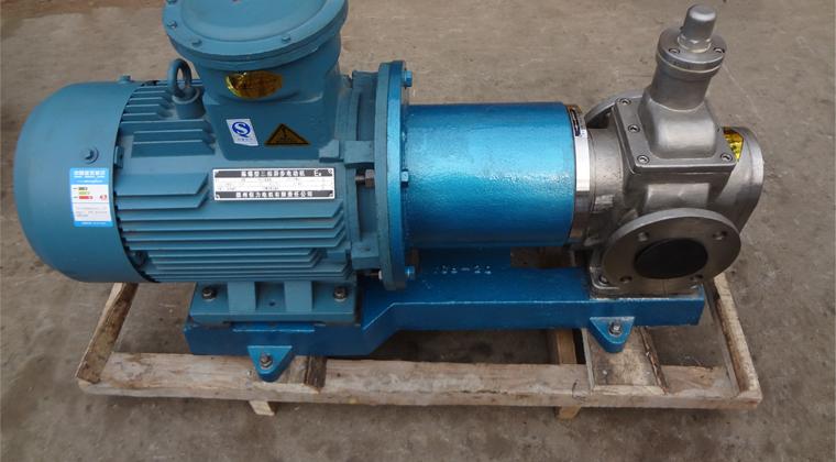 无泄漏磁力齿轮泵输送树脂用于要求高无泄漏场合