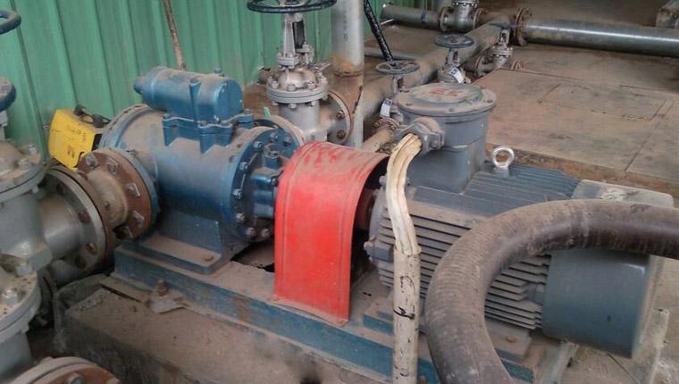 环保芳烃油卸车泵2GT133-75M1W61A螺杆泵