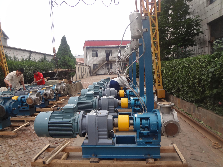 NYP220B高粘度泵如何安装和调试双端面机械密封