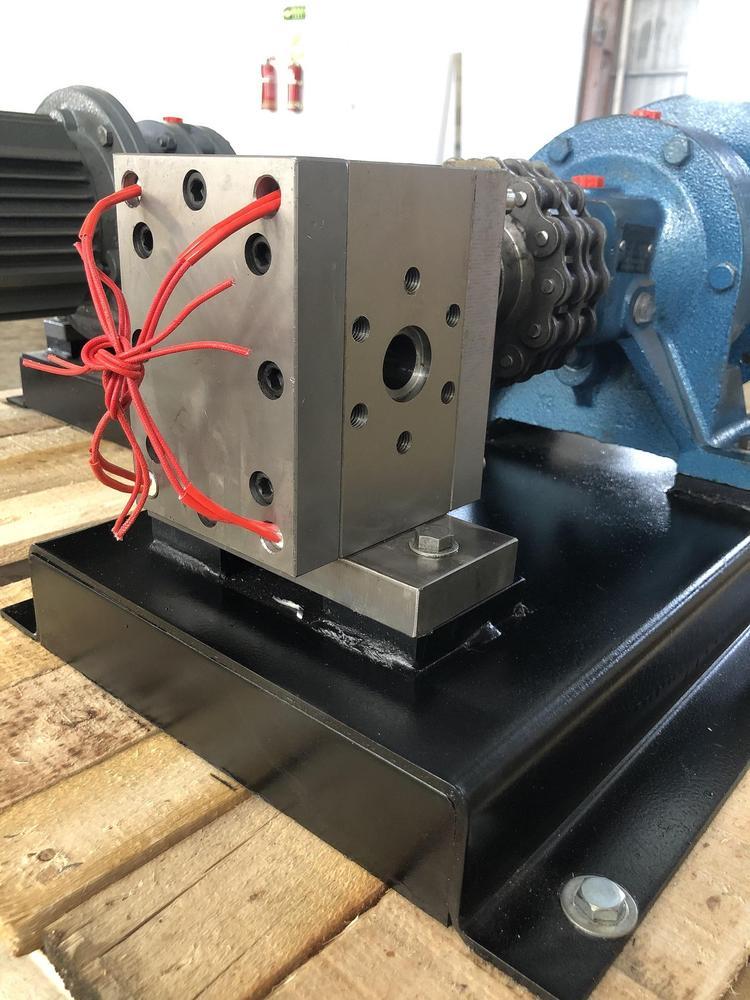 熔喷布专用计量泵 /熔喷布熔体计量泵100CC专用配套120螺杆挤出机
