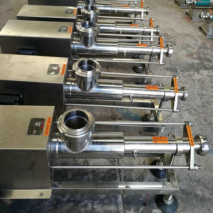 食品级螺杆泵/卫生级螺杆泵在食品生产包装中不可缺少的容积泵