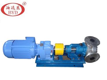 高粘度树脂抽桶到反应釜用远东2寸3寸高粘度泵
