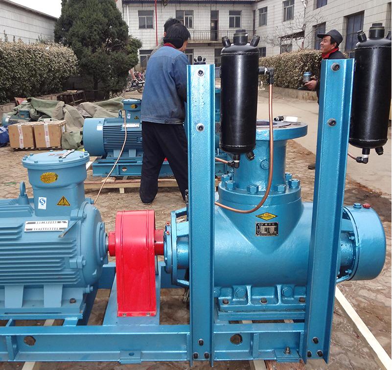 180#船用燃料油装卸泵W6.4ZK-100M1W73双端面密封螺杆泵