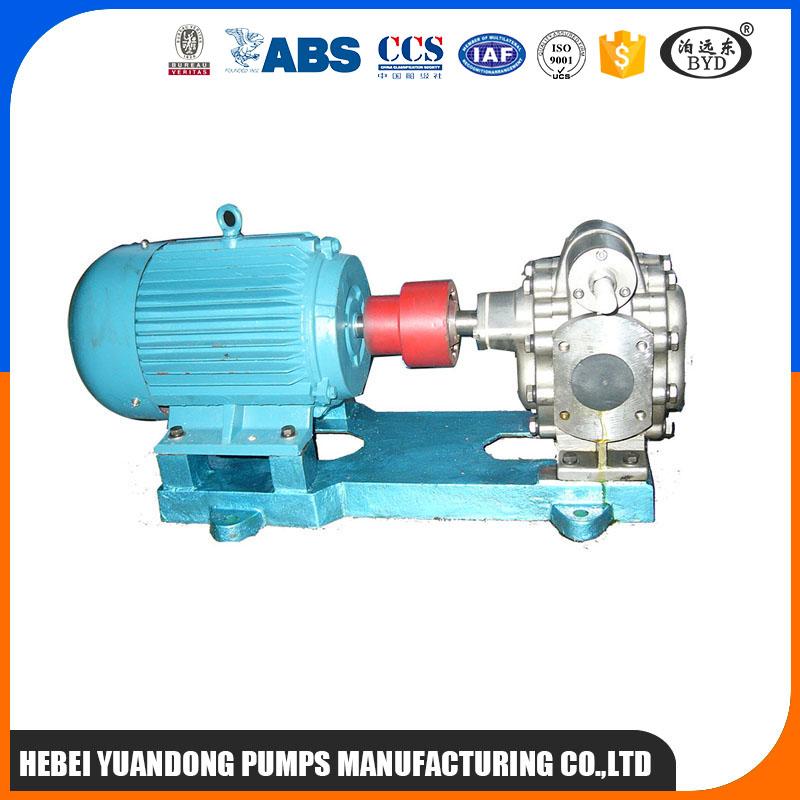 大豆毛油棕榈油输送泵专用远东YCB20/0.6不锈钢齿轮泵