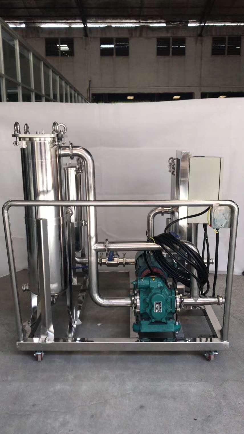 移动式润滑油液压油机油过滤机配套KCB300齿轮油泵