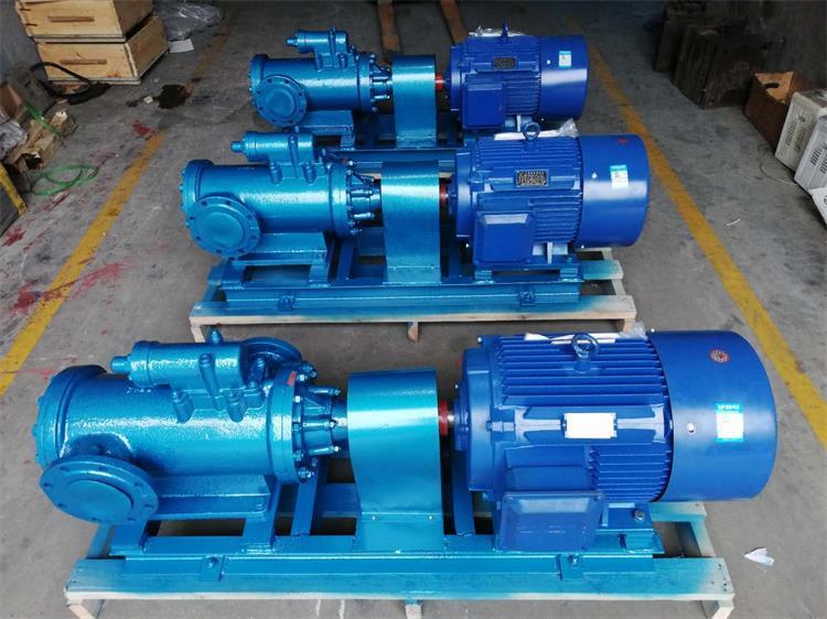 高压润滑油螺杆泵3GR70×4W2卧式螺杆泵