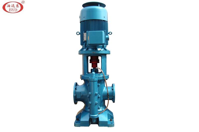 3GCLS100*2W21三螺杆泵流量75m3/h ,压力0.5Mpa,配用电机YH180M-4V1-18.5KW船用电机