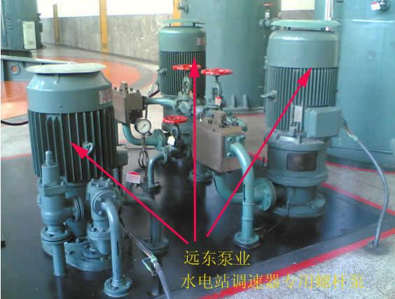 3GR85*4C2 螺杆泵配套调速器高压油泵压力4.0MPa