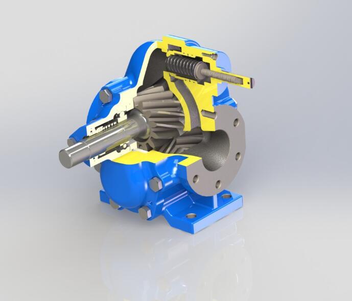 KCB300人字形齿轮油泵输送润滑油流量18m3/h