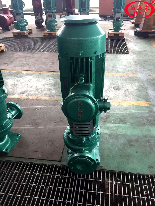 柴油发油泵选择150GY60立式管道油泵与150CYZ-63自吸式离心泵那种好