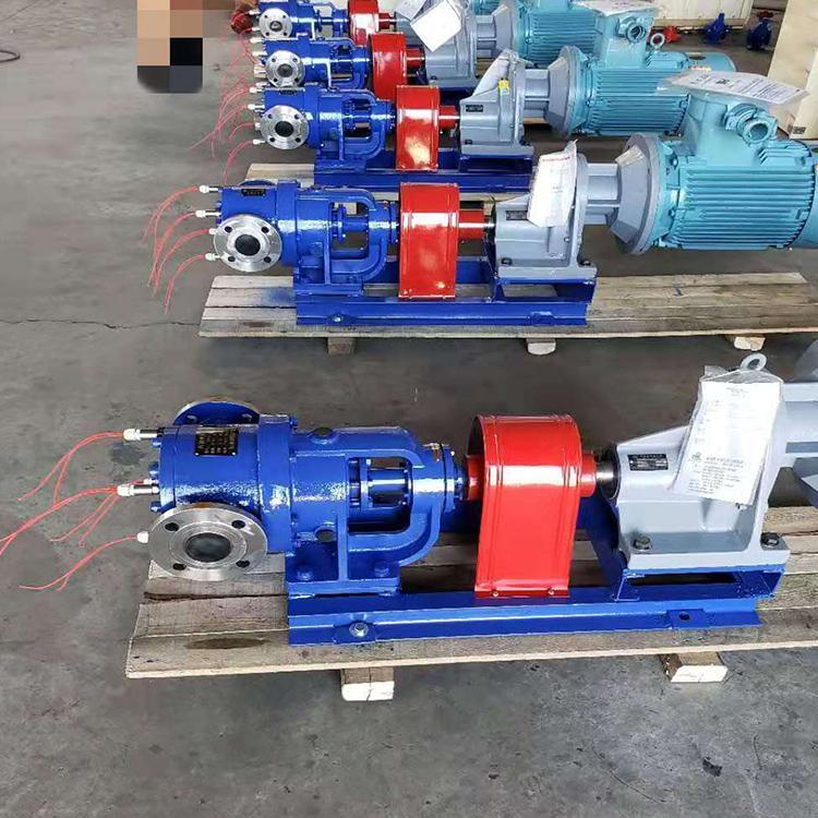 电加热保温高粘度齿轮泵NYP50BRUT2W11G输送橡胶液