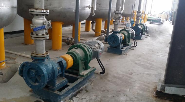 硅油脱模剂输送泵NYP160内啮合转子泵