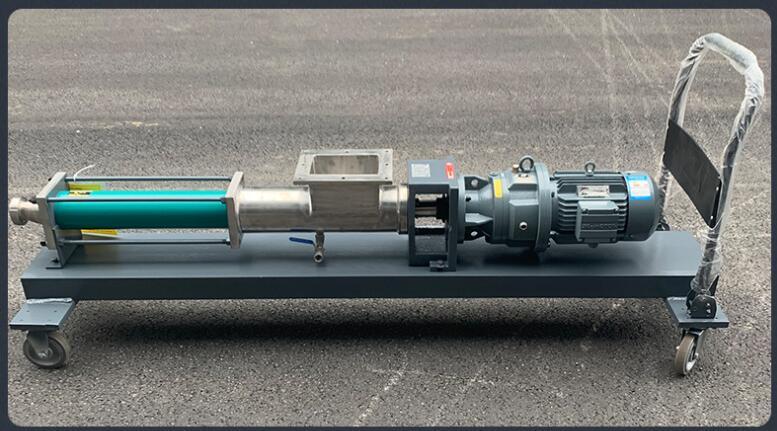 料斗式螺杆泵GUT50-1P-W102输送浆料