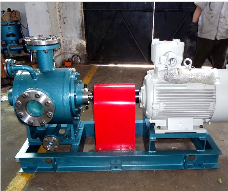 保温夹套双螺杆泵2G6.4-130输送稠油
