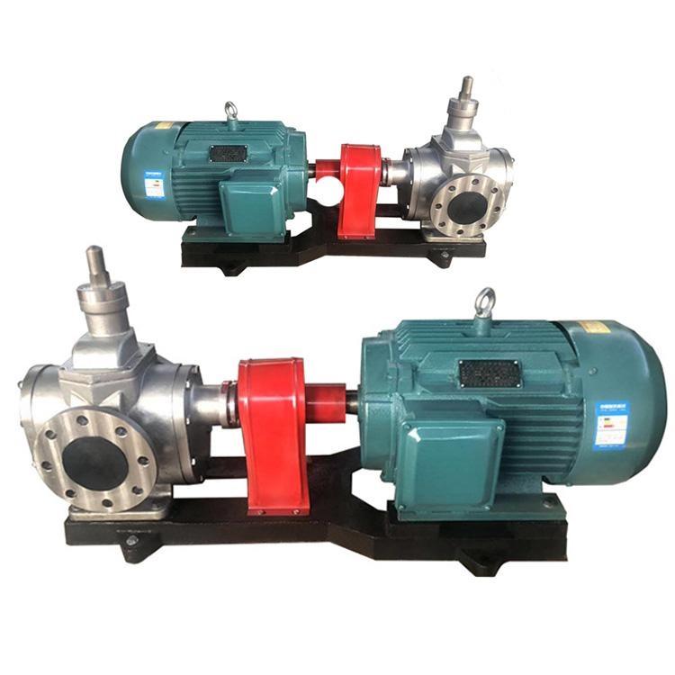 蜡油泵YCBT20/0.6G不锈钢保温夹套齿轮泵
