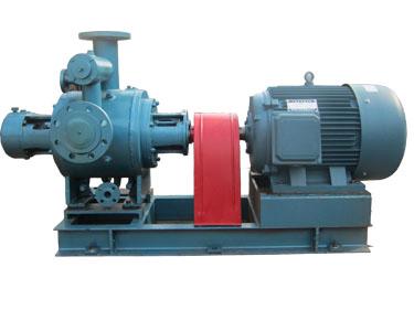 沥青装卸车泵W7.3Zi-130Mb保温夹套螺杆泵