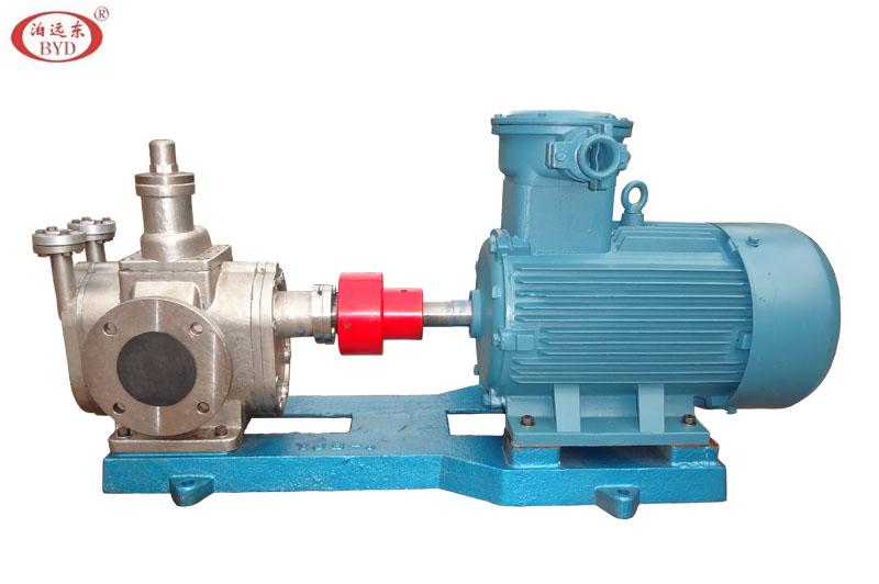 YCB不锈钢保温圆弧齿轮泵