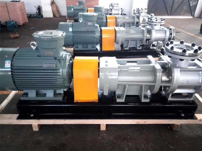 W7Kse-43不锈钢钢双螺杆泵