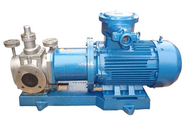YCB不锈钢保温磁力齿轮泵