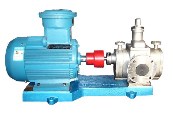 YCB20不锈钢圆弧齿轮泵