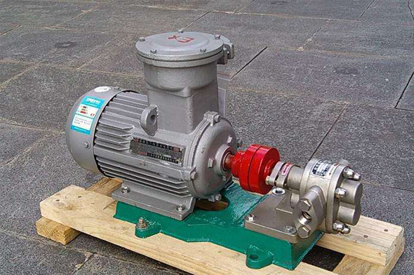 KCB83.3不锈钢齿轮油泵