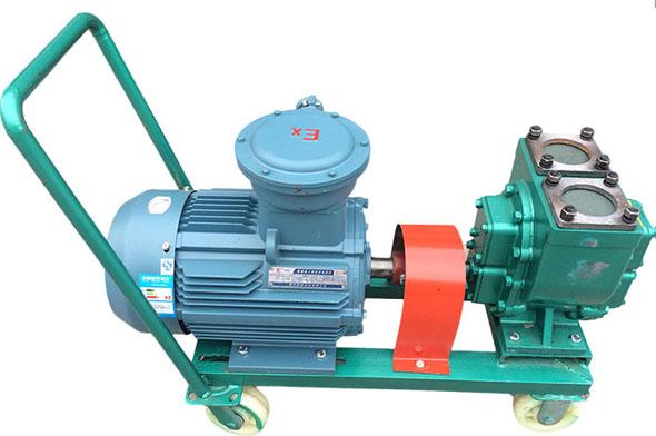 YHCB移动式圆弧齿轮油泵