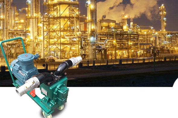 移动式食用油卸车泵