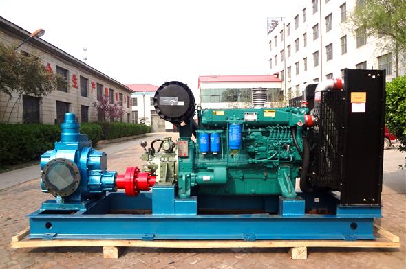 柴油机驱动齿轮油泵