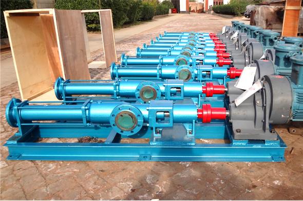 污水处理污泥输送泵