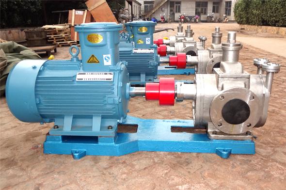 YCB-G不锈钢保温齿轮泵