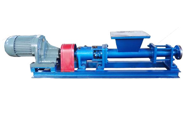 单螺杆泵(带喂料推进器)