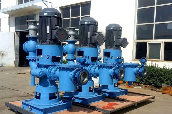 立式双螺杆油泵