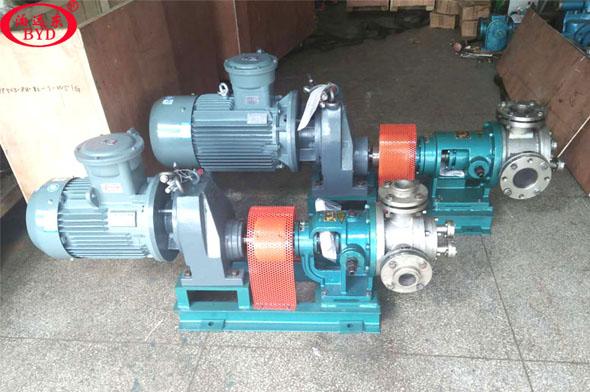 GNYP不锈钢保温高粘度泵