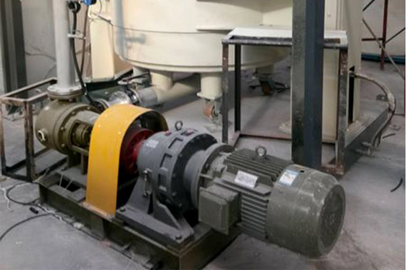 4寸/5寸高粘度泵配套强力分散机/压料机