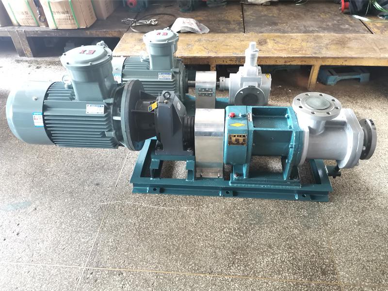 W5kse不锈钢双螺杆泵